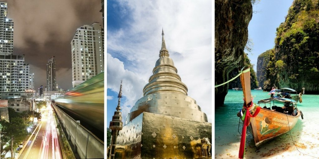 Bangkok Chiang Mai Phuket