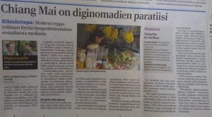 Finnish Newspaper Chiang Mai Paradise