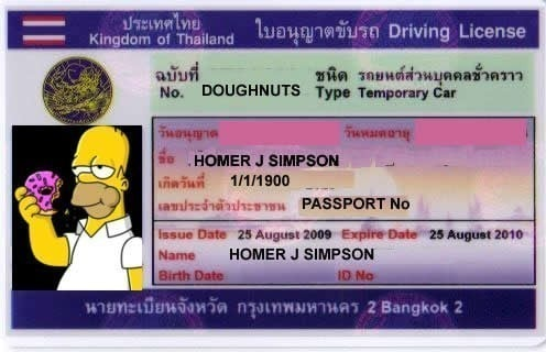 How to Get a Thai Driving License | iglu