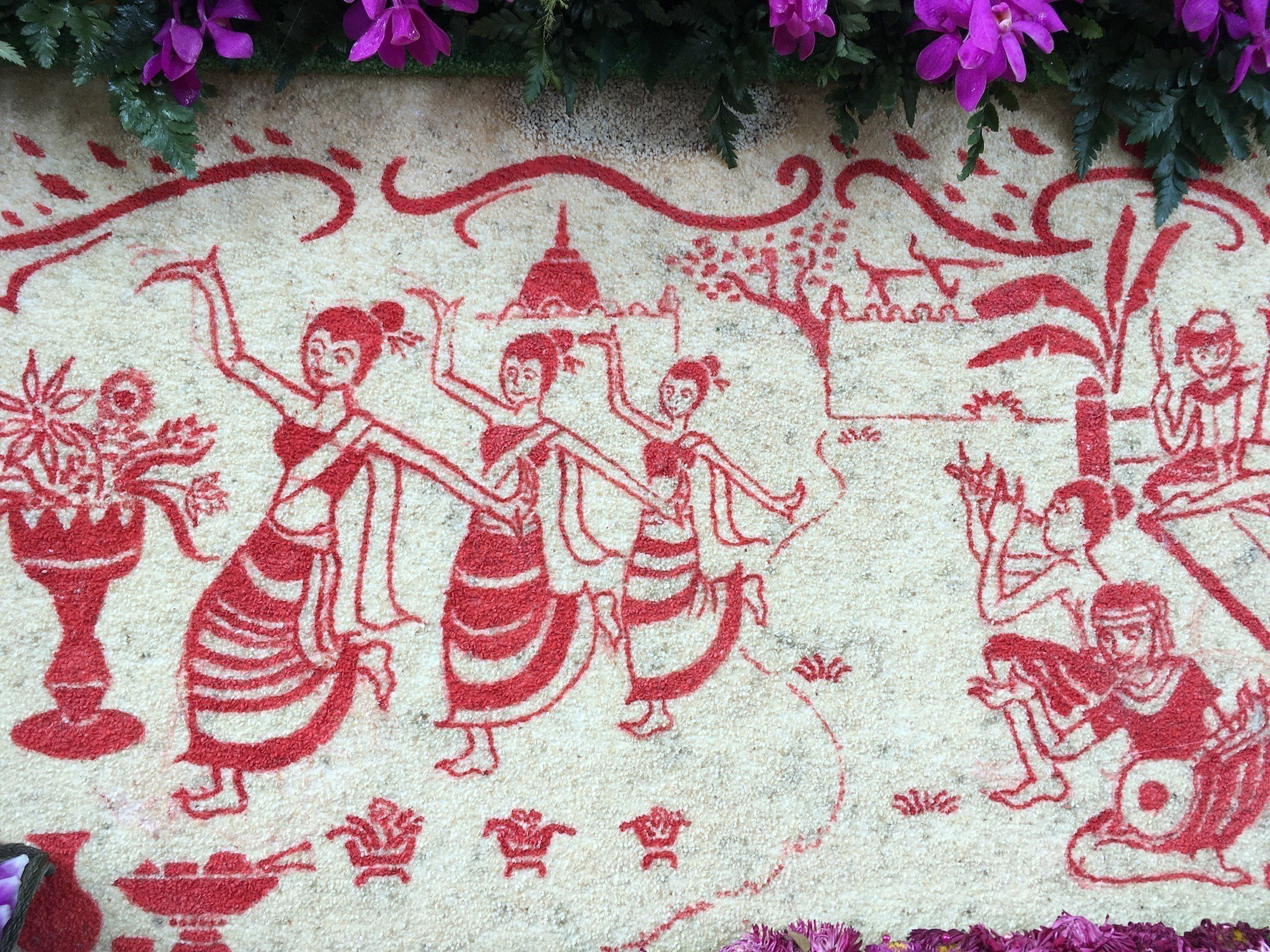 thai culture dancing picture