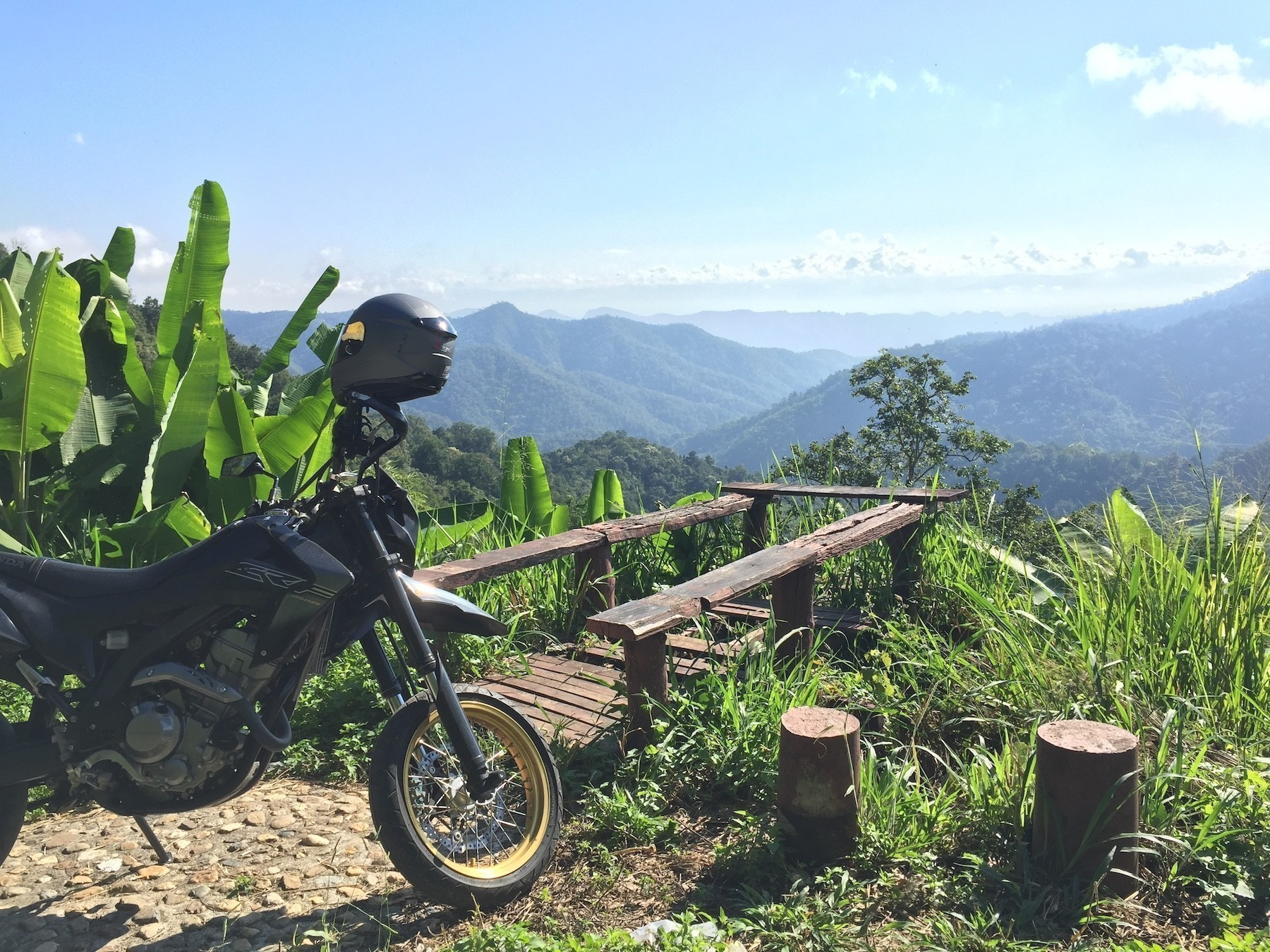 Riding Motorcycles in Northern Thailand