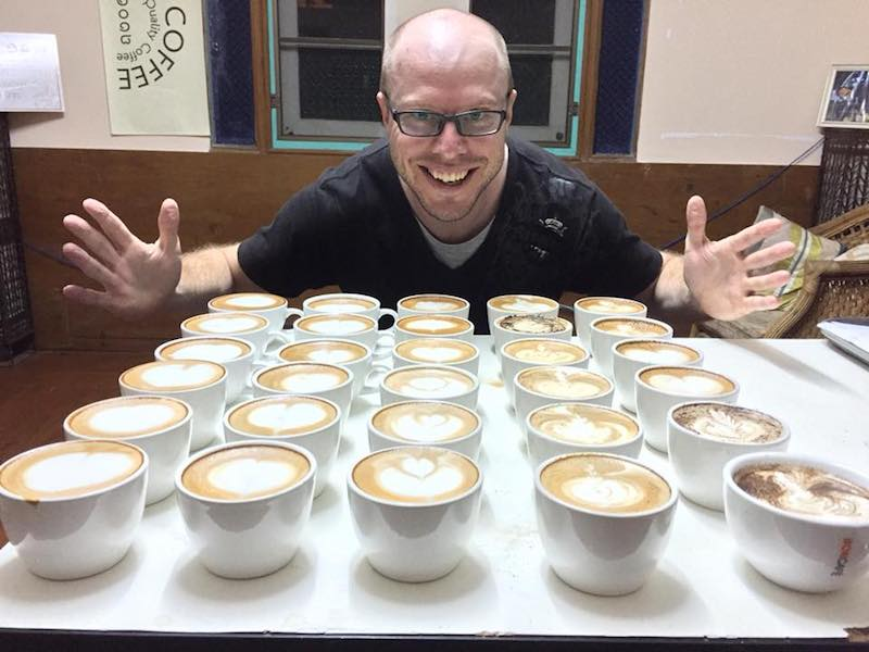 Tim many Lattes Chiang Mai