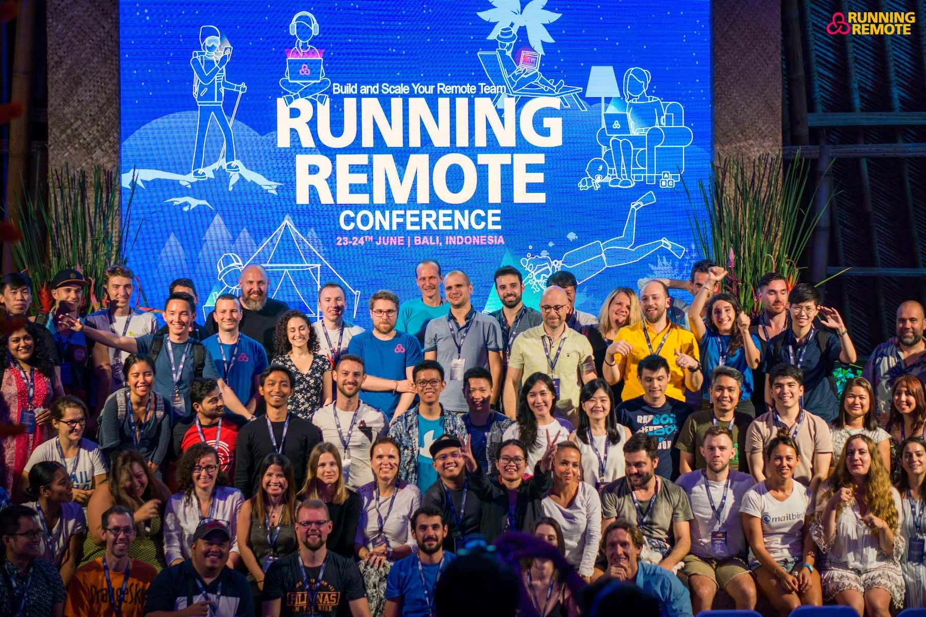 Iglu Sponsors Running Remote 2019 in Bali