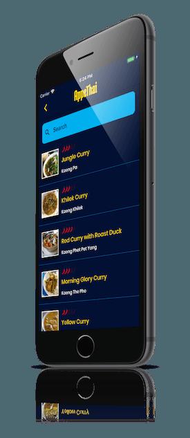 thai curry food list