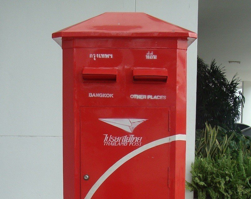 thailand 90 day reporting registered mail