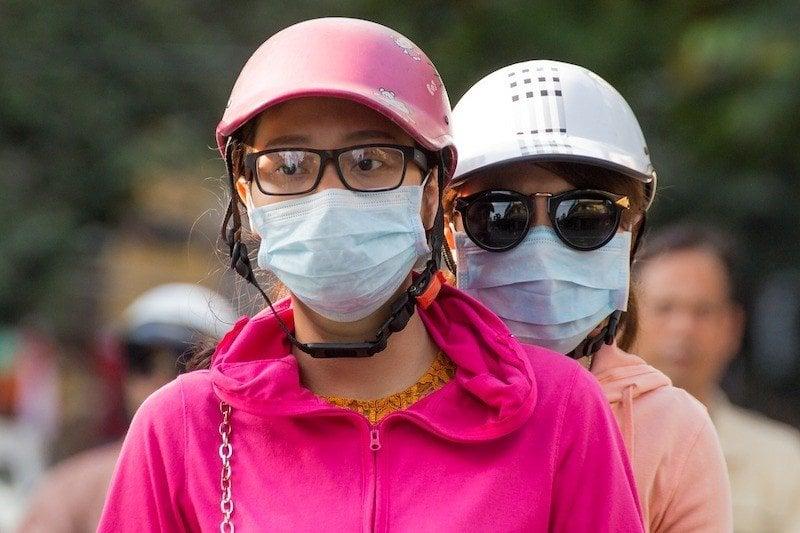 vietnamese pollution masks