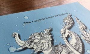 Thai language for beginners