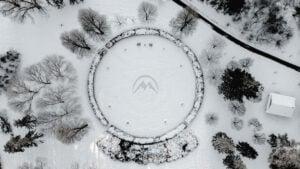 ARCTIAN mountain logo
