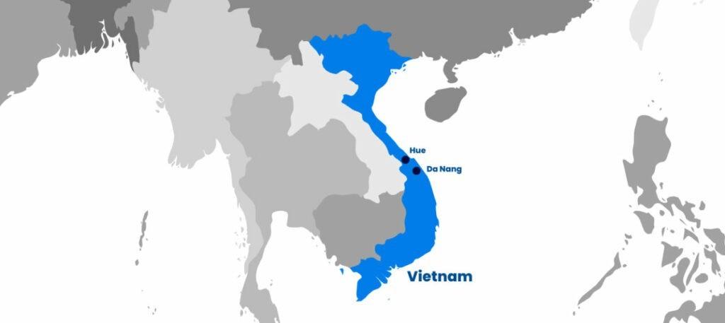 Iglu Vietnam Map