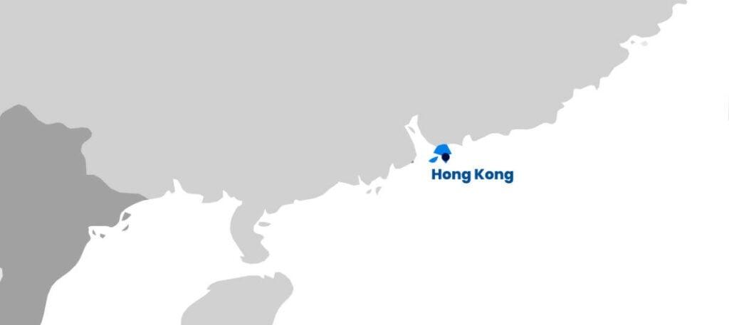 Iglu Hong Kong map