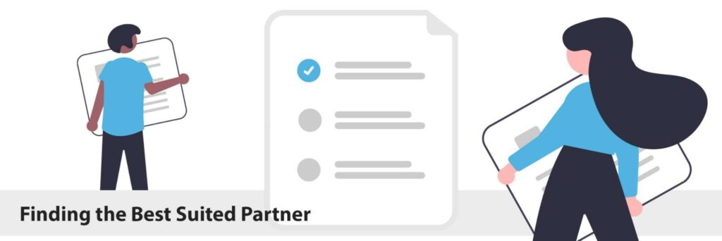 Find the best suited partner