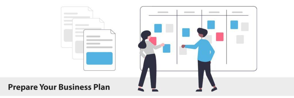 Prepare business plan